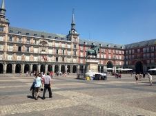 La Plaza Mayor de Madrid!