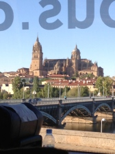 Entering Salamanca; The Cathedral