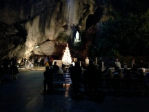 The Grotto from further away.